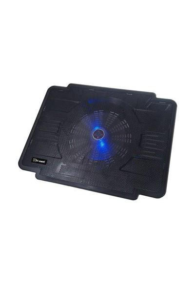 V-Net 360Z 15cm Mavi LED Fanlı 1 Port USB Notebook Soğutucu