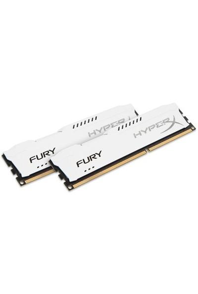Kingston HyperX Fury White 16GB(2x8GB) 1866MHz DDR3 Ram (HX318C10FWK2/16)