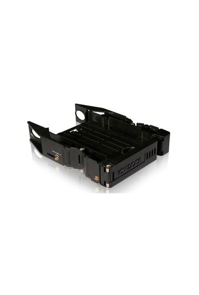"""Icy Dock EZ-FIT 2,5"""" x 2 Yuva 3.5 inç Çevirici Disk Kızağı (MB990SP-B)"""