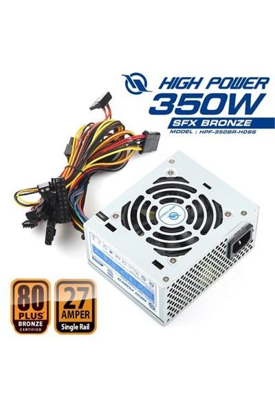 High Power 80Plus Bronze 350W SFX Yapılı Aktif PFC Güç Kaynağı (HPF-350BR-H08S)