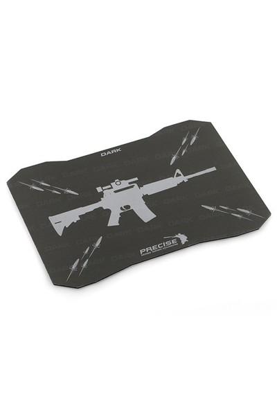Dark Precise Serisi Sert Yüzeyli Yüksek Lazer Performanslı Oyuncu MousePad (350x250mm)(DK-AC-MPAD01)