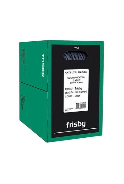 Frisby FNW-CAT622 CAT6 24 AWG 305M Kablo