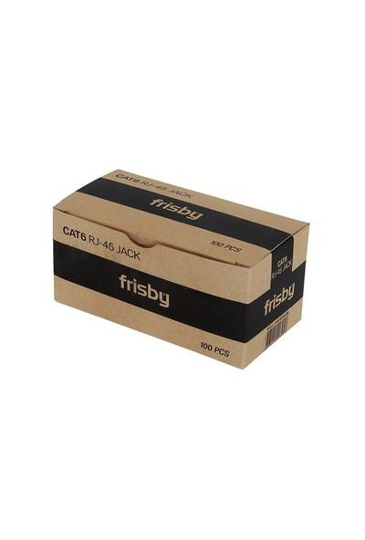 Frisby FNW-RJ4520N CAT6 RJ45 UTP Altın Uç Konnektör