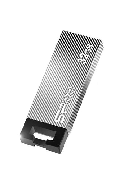 Silicon Power Touch 835 32GB Gri Usb Bellek