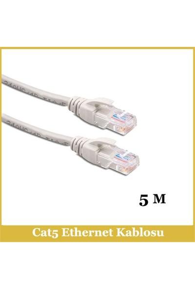 Ti-Mesh Cat5e Network Cable Od:5.2 7/0.16 Cu*8C - 5M