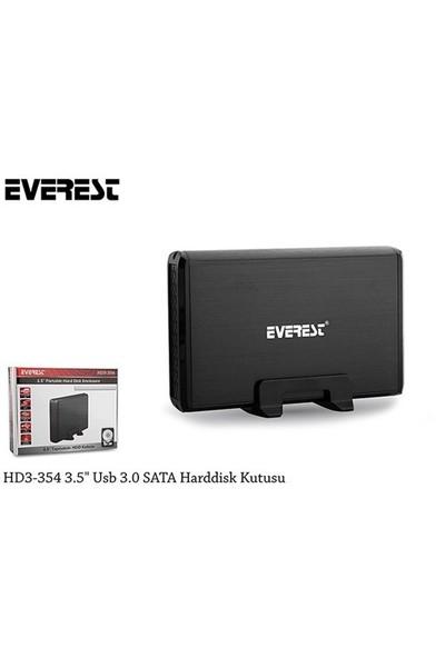 "Everest HD3-354 Usb3.0/Sata 3.5""Cd/Dvd Kutusu"