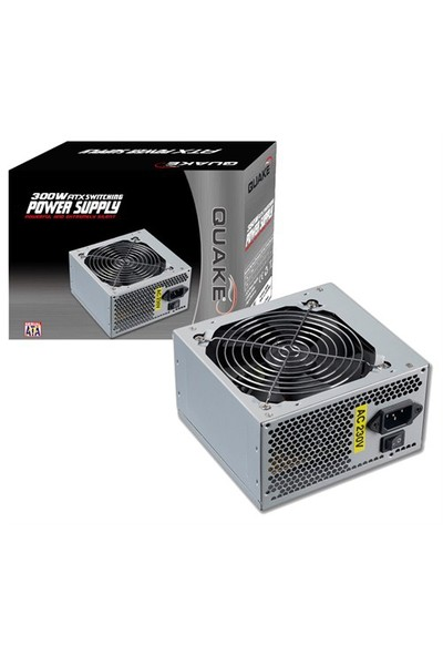Quake LC-8300MX 300W (1x12cm Fan+24 Pin+2xSata) Power Supply
