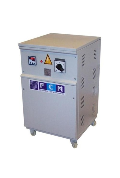 Fcm 20 Kva Regülatör Monofaze Servo Elektronik Otom. Mikroişlemcili FSV 11-15