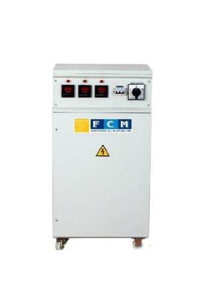 Fcm 45Kva regülatör Trifaze Servo Elektronik Otom. Mikroişlemcili FSV 33-45