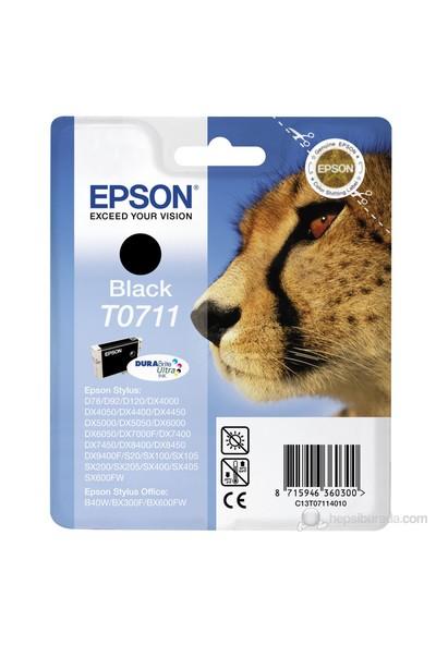 Epson C13T07114021 / T0711 Siyah Mürekkep Kartuş