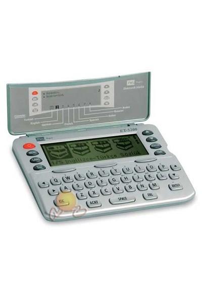 Poly Lingua ET-5200 Elektronik Sözlük