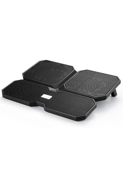 Deep Cool Multi Core X6 140X15mm/100X15mm 4 Fan 2 USB Port Notebook Stand ve Soğutucu