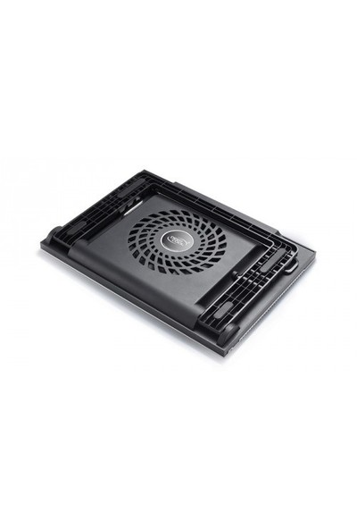 Deep Cool N9 BLACK 180X15mm Fan 4 USB Port Aleminyum Notebook Stand ve Soğutucu