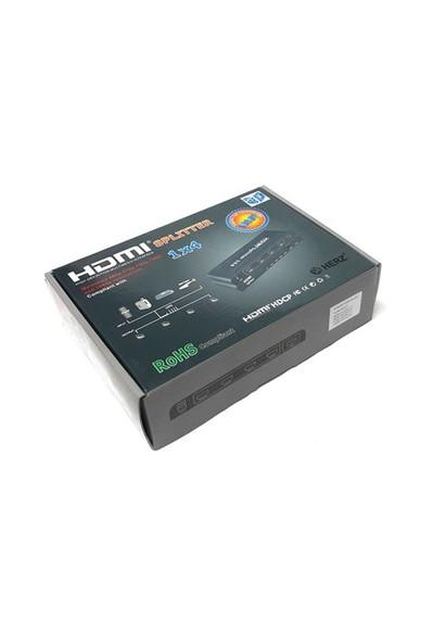 Herz 1X4 Hdmı Splitter V1.4 3D 4Kx2k