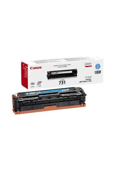 Canon CRG-731C 1500 Sayfa Kapasiteli Mavi Toner