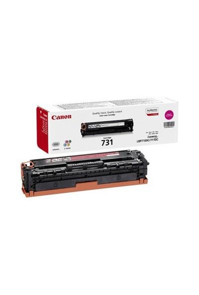 Canon CRG-731M 1500 Sayfa Kapasiteli Kırmızı Toner