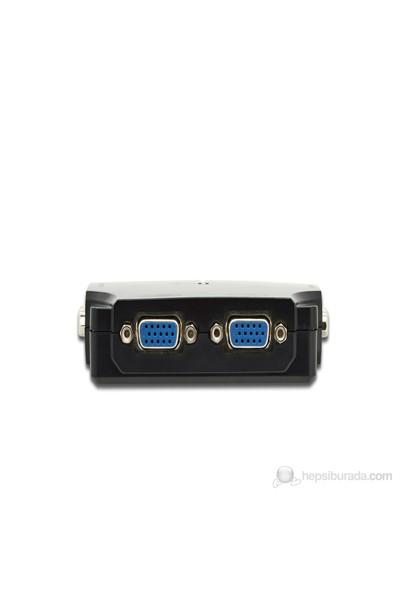 Digitus DS-42120-1 4 Port VGA Çoklayıcı