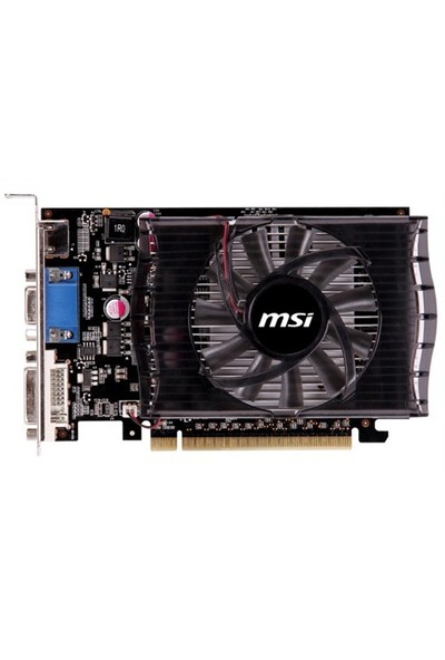 MSI NVIDIA GeForce GT 730 2GD3V2 2GB 128 bit DDR3 DX(12) PCI-E 2.0 Ekran Kartı (N730 2GD3V2)