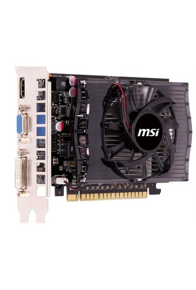 MSI NVIDIA GeForce GT 730 2GD3V2 2GB 128 bit DDR3 DX(12) PCI-E 2.0 Ekran Kartı ( N730-2GD3V2 )