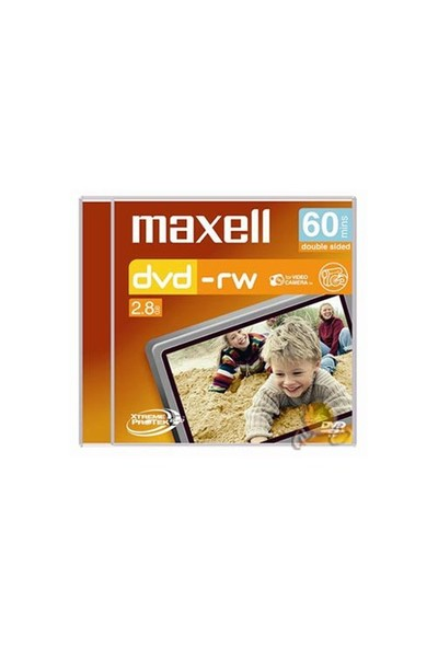 Maxell Mini DVD-RW Camcorder 60MIN Hg N/C Jewel Case