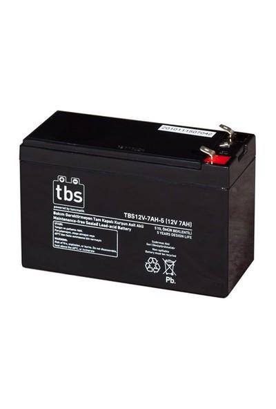 Tbs 12V-7Ah-5 Ups Tip Akü