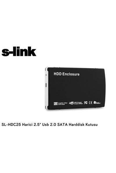 S-Link Sl-Hdc25 Harici 2.5` Usb 2.0 Sata Harddisk Kutusu