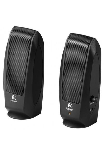 Logitech S120 1+1 Speaker Siyah (LOG-980-000010)