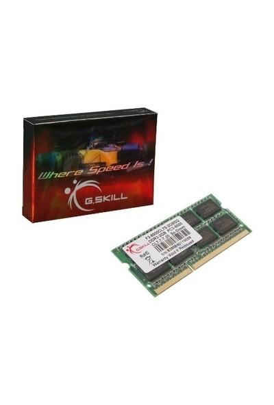 GSKILL Value DDR3-1333Mhz CL9 4GB SO-DIMM (F3-10666CL9S-4GBSQ)