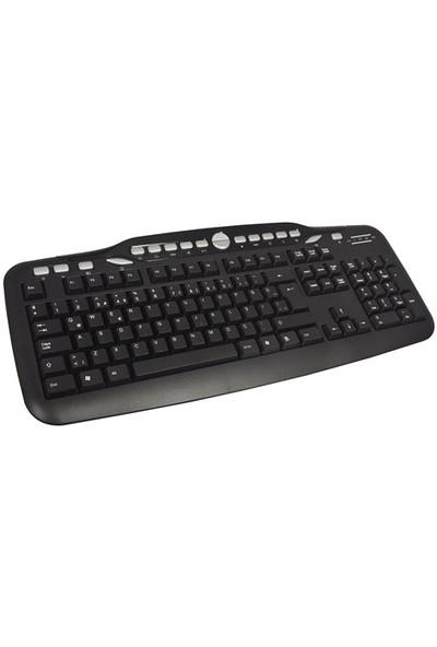 Hiper KM-3075 USB Multimedya Klavye