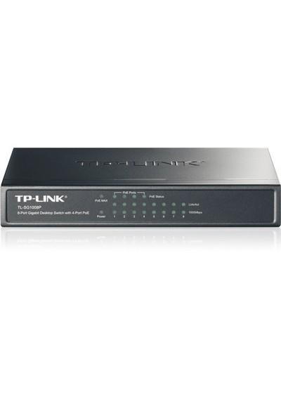 TP-LINK TL-SG1008P 8-Port 10/100/1000Mbps Tak ve Kullan dahili 4 Port POE Destekli Gigabit Switch