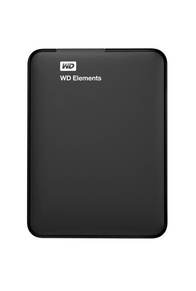 "WD Elements 750GB 2.5"" USB 3.0 Taşınabilir Disk (WDBUZG7500ABK-WESN)"
