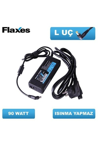 Flaxes Fna-De190 Flaxes Dell 19.5V 4.62A 90W Uçlar : 7.4*5.0 Muadil Notebook Adaptör