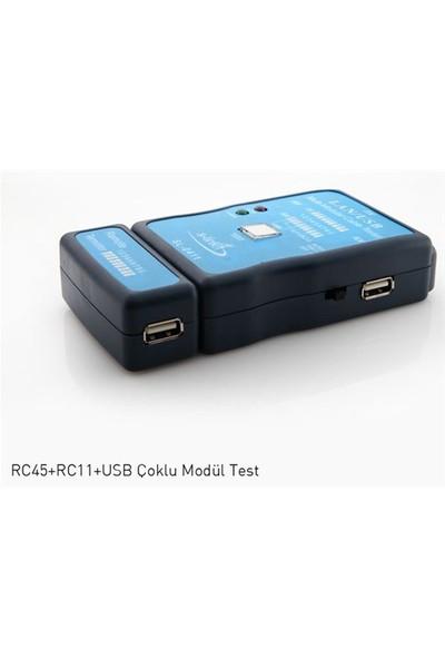 S-Link Sl-0411 S-Lınk Rj-45/Rj-11 Usb Test Cihazı