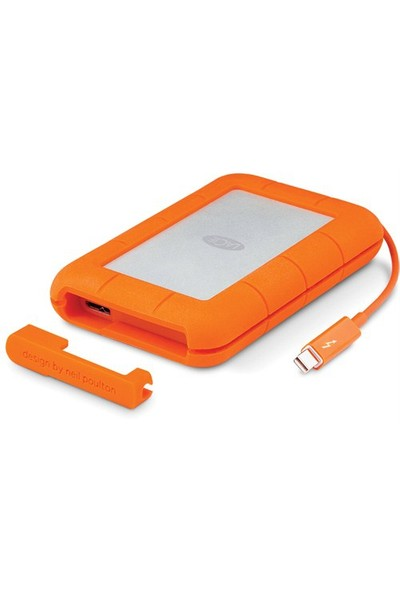 Lacie 4TB Rugged STFS4000800 Thunderbolt USB3.0 Taşınabilir Disk