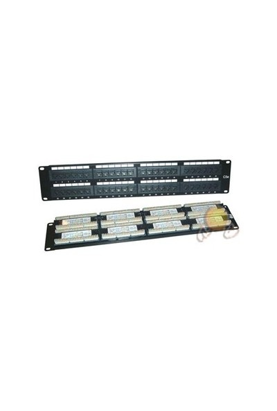 """Digitus DN-91548U CAT5 48 Port 19"""" Patch Panel"""