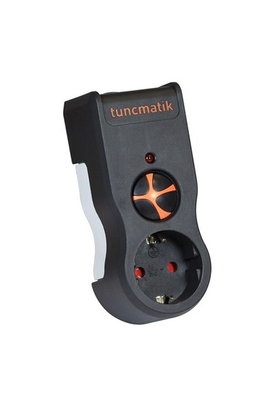Tunçmatik Enerji Koruma Prizi Powersurge 1'li Siyah 525 JOULE (TSK5079)