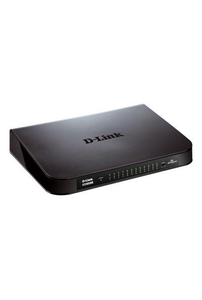 D-Link DGS-1024A 24-Port 10/100/1000 Yönetilemez Switch