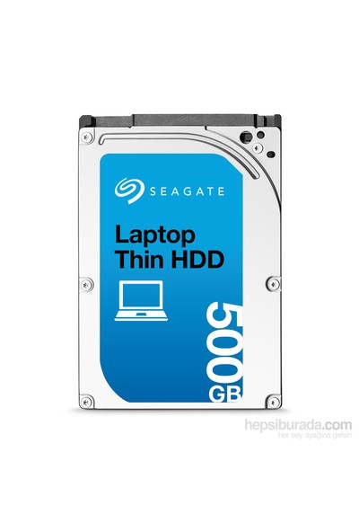 "Seagate Laptop Thin HDD 500GB 2.5"" 7200RPM Sata 3.0 32Mb Notebook Disk (ST500LM021)"