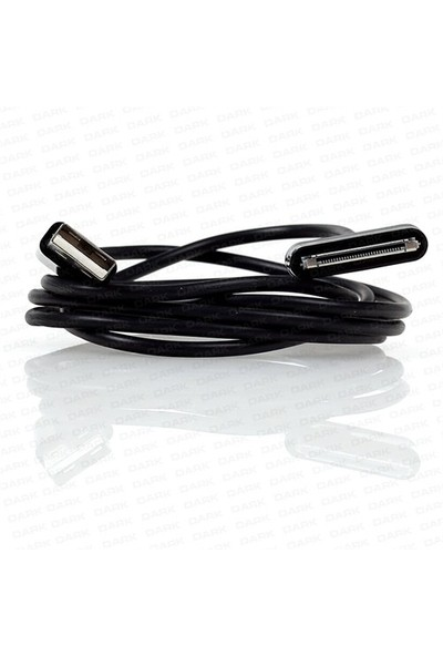 Dark Samsung Galaxy TAB/TAB 2 Serisi Tabletler İçin 1m USB Şarj ve Data Kablosu (DK-CB-USB2GALAXY)