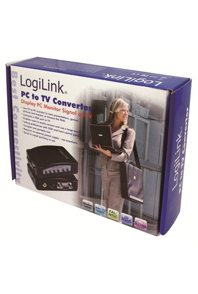 LogiLink VG0003 VGA - Video Çevirici