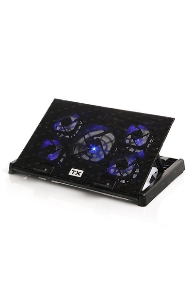TX Ergo500 5 Fanlı Oyuncu Notebook Soğutucu Stand (TXACNBERGO500)
