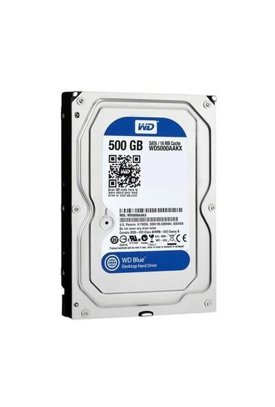 5WD 500GB 3.5 7200Rpm 16Mb Sata3 WD5000AAKX Blue