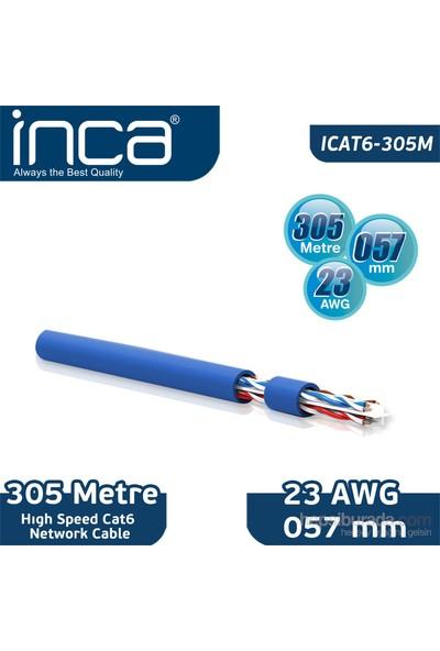 Inca High Speed Cat6 Network Kablosu (ICAT6-305M)
