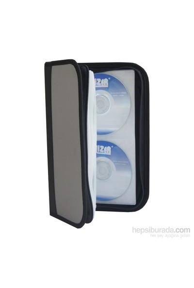 Lizer LST80 80 li Lacoste Deri CD DVD Çantası