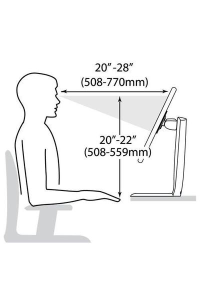 Ergotron Neo-Flex Yükseklik Ayarlı LCD Monitör Standı ERG33310060