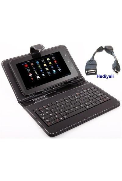 """Qapak 7"""" Klavyeli Tablet Kılıfı"""