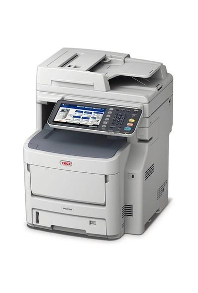 Oki MC760dn Faks + Tarayıcı + Fotokopi + Wifi Renkli Lazer Yazıcı
