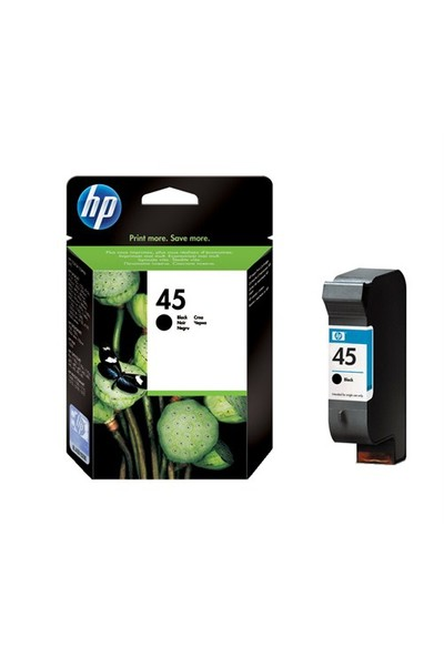 HP 45 Büyük Siyah Kartuş 51645AE / 51645A