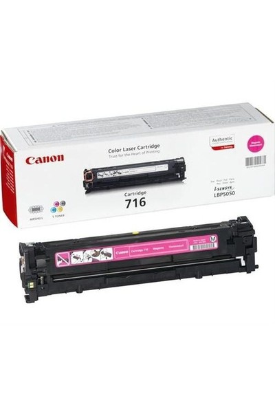 Canon CRG-716M 1500 Sayfa Kapasiteli Kırmızı Toner