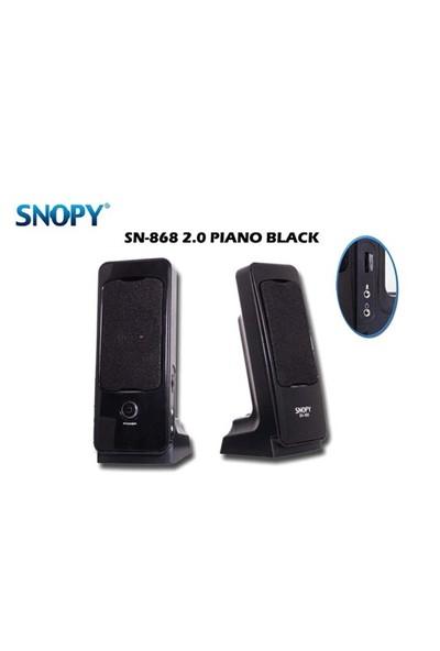 Snopy Sn-868 2.0 Gümüş/Siyah Speaker